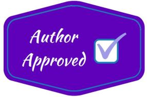 author approved badge