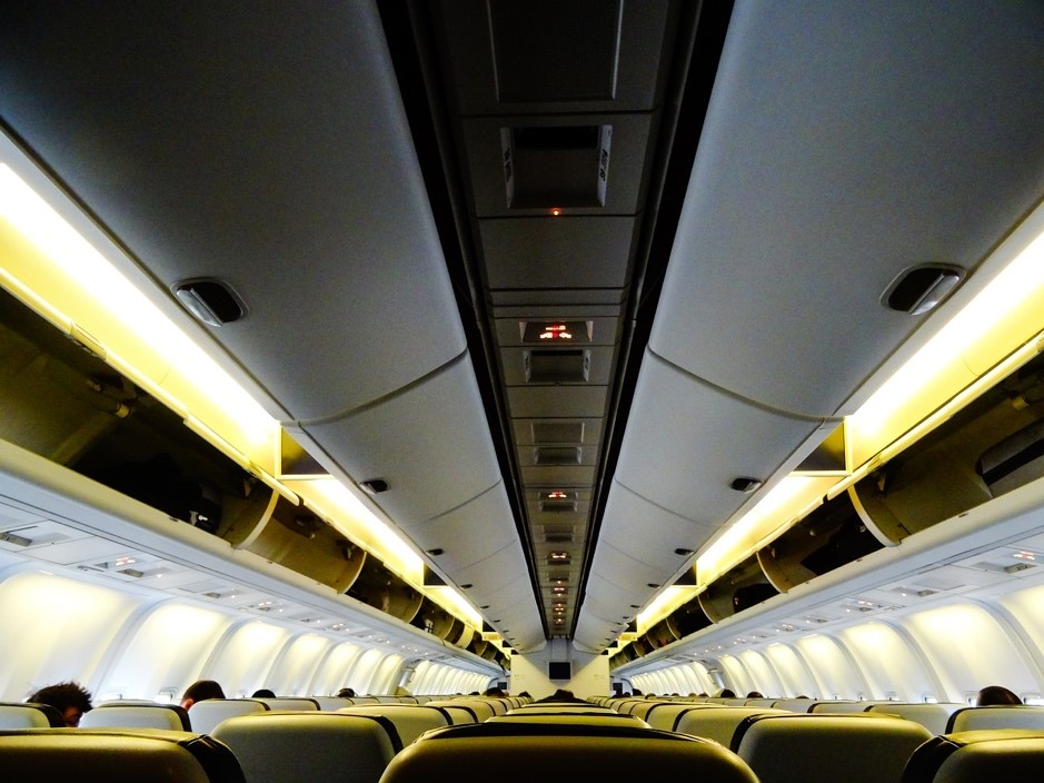ariplane cabin